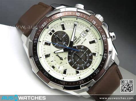 Casio Edifice 539 Leather buy casio edifice chronograph genuine leather band mens