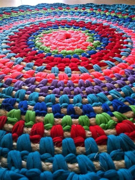 crochet fabric rug crochet rug fabric and rope הסורגת עפרה בכר rugs crochet rugs and fabrics