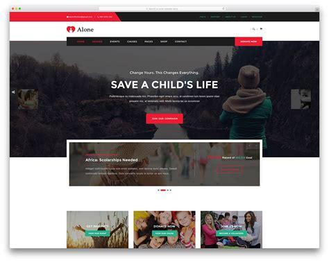 Non Profit Website Templates Choice Image Template Design Ideas Non Profit Websites Templates