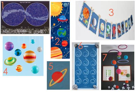 Outer Space Decor by Outer Space Decor For Kid Rooms Ecbloom