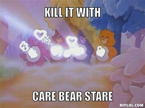 Care Bear Meme - pictures and quotes funny care bear quotesgram