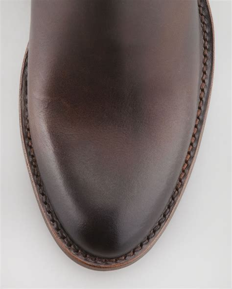 frye mustang boots frye 150th anniversary mustang boot brown in brown lyst