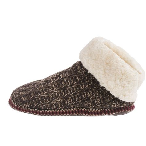 faux fur boot slippers muk luks faux fur cuff boot slippers for save 82