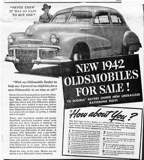 newspaper car ads n o s archive the old car manual project