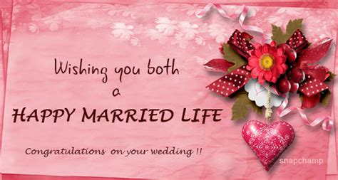 happy married wishes