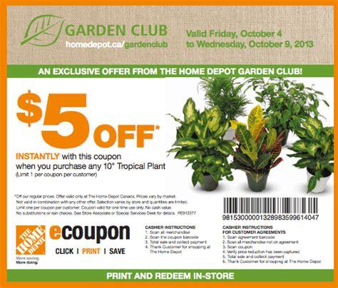 Home Depot Canada Deals Gardeners.com Coupon Code