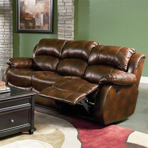 Leather Sofa Recliner Set Morrell Leather Reclining Sofa Set Sofa Sets