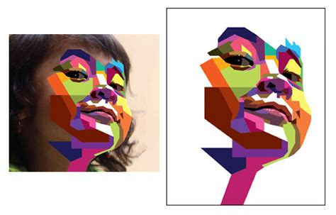 illustrator tutorial geometric shape how to create a geometric wpap vector portrait in adobe