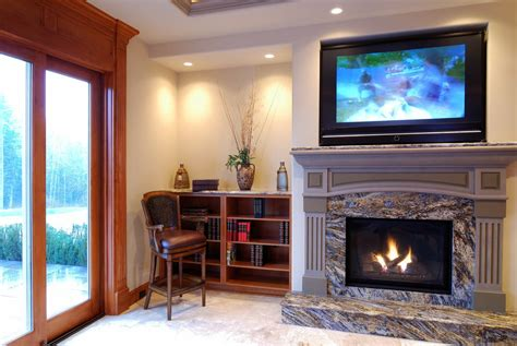 tv mounted on fireplace four reasons not to slap that flat screen tv your