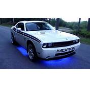 2010 Dodge Challenger R/T Classic With Underglow Lights From XKGlow