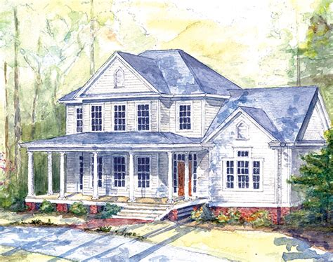 southern living farmhouse plans highland farm southern living house plans