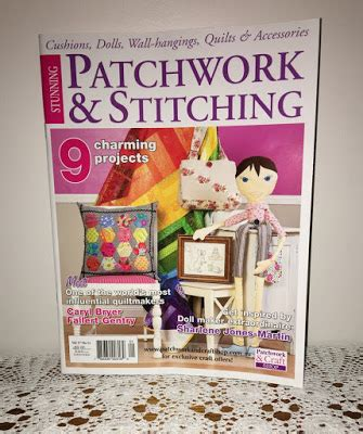 Patchwork And Stitching Magazine - val laird designs journey of a stitcher a bilby and a