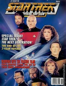 foreigner official fan club star trek the official fan club magazine 97 vf