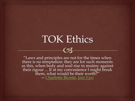 Ppt Tok Ethics Powerpoint Presentation Id 2265155 Tok Presentation Ppt