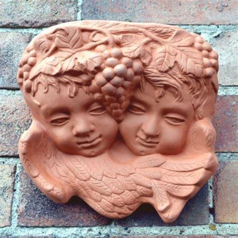 terracotta garden wall cherub terracotta wall planter terracotta uk the