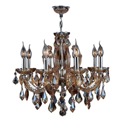 Orange Chandeliers Homesullivan 6 Light Bronze Tea Shade Chandelier 40ok 5113h The Home Depot