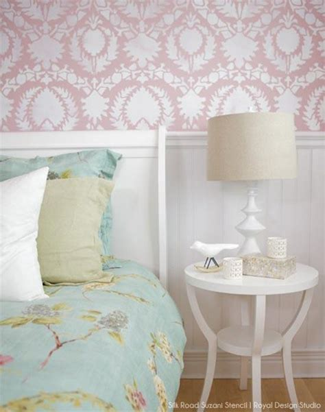 stencil and pattern ideas for s bedrooms royal