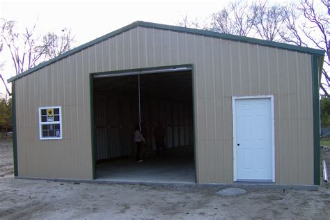 Cost To In Garage by Steel Building Kits Pricing Pictures To Pin On