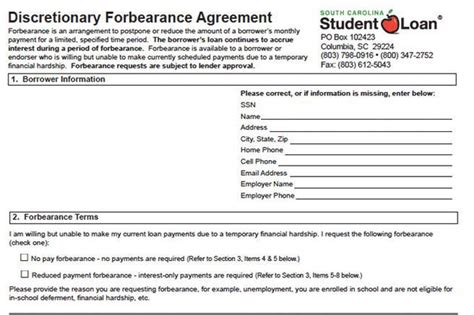 forbearance agreement template agreement template free premium templates