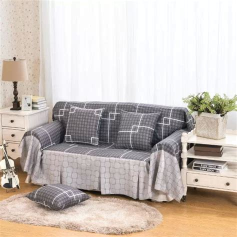 full sofa cover pure cotton slipcover sofa cover full cover antiskid