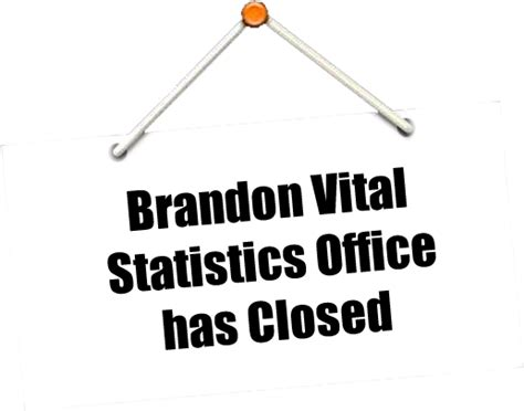Department Of Health Vital Records Brandon Vital Statistics Office Has Closed Florida Department Of Health In Hillsborough