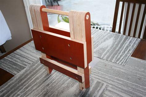 woodwork simple folding step stool plans  plans