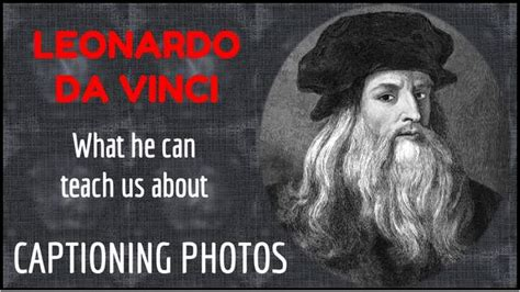 Powerpoint Photo Captioning Lesson From Leonardo Da Vinci Prezo Training Leonardo Da Vinci Powerpoint