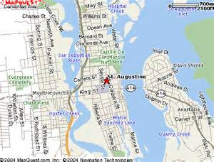 maps st augustine florida st augustine fl maps up
