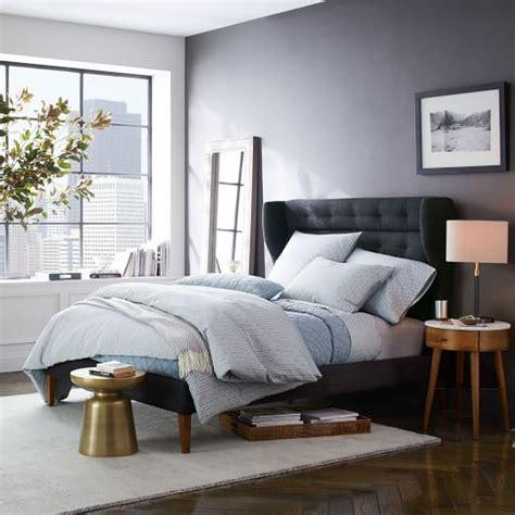 west elm bedroom sale james harrison bed tweed west elm