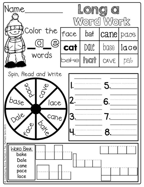 Cvce Worksheets by Cvce Word Family Word Work Student Centered Resources Vowels And Silent E