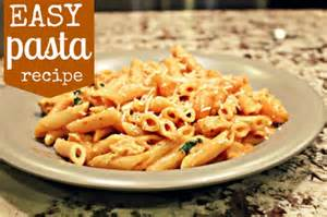 easy pasta recipes easy chicken pasta recipe