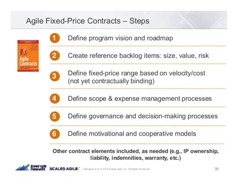 contract backlog report template agile contracts by drew jemilo agile2015