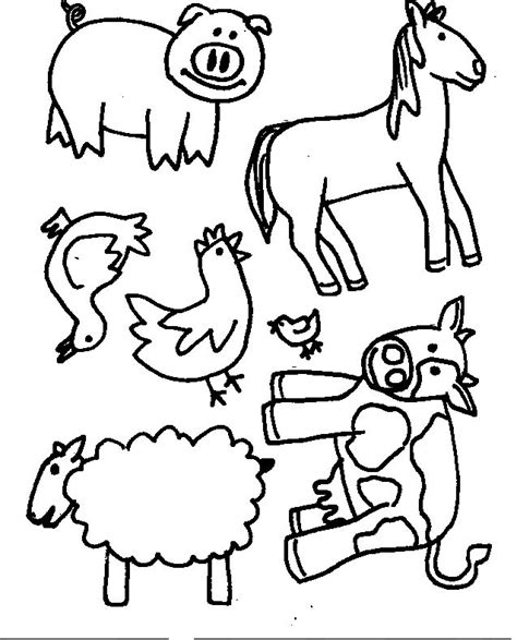 animal puppet templates ideas for early childhood macdonald had a farm