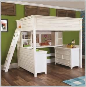 Bunk bed desk dresser combo bed desk home furniture design