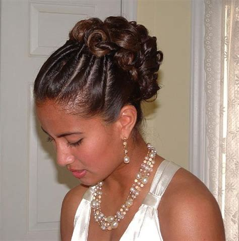 Bridesmaid Hairstyles For Black Hair by Hairstyles Beautiful Hairstyles