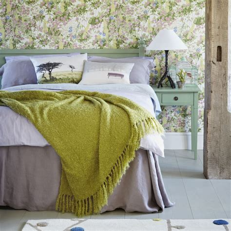 botanical inspired room schemes  invite florals