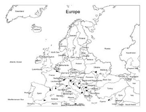 map of europe with country names black and white sweet potato biscuits recipe purpose names and it is