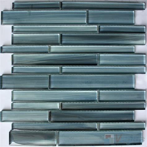 linear elegancy hand painted glass mosaic voglus mosaic