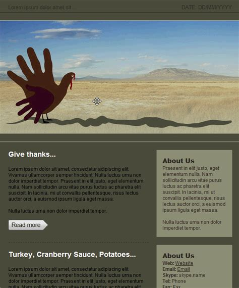 free thanksgiving email templates free email template thanksgiving free email and