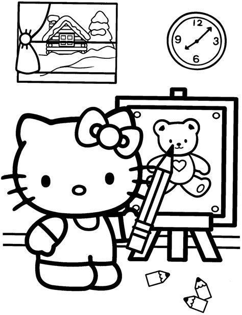 Coloring Page 15 by Hello Coloring Pages 02 Of 15 Drawing Hd