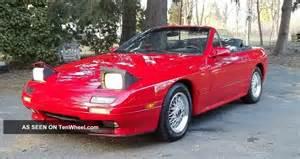mazda rx7 1990 convertible
