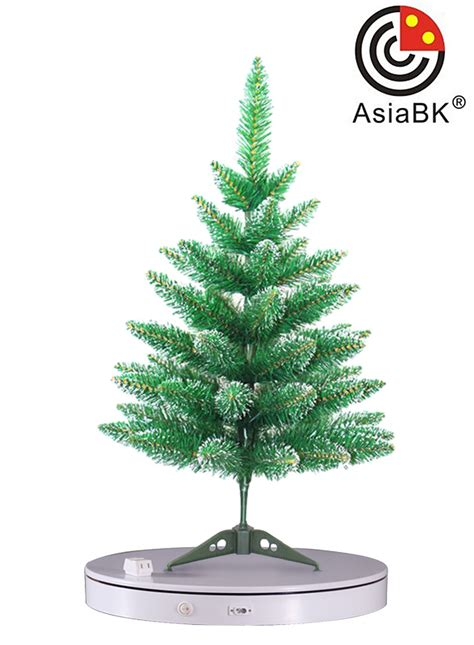 best decorations gift christmas tree display turntable