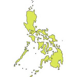 Philippines Map Outline by Outline Vector Map Of Philippines At Vectorportal