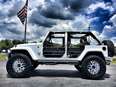 Jeep Tops For Sale 2016 Jeep Wrangler Custom Lifted Leather Hardtop