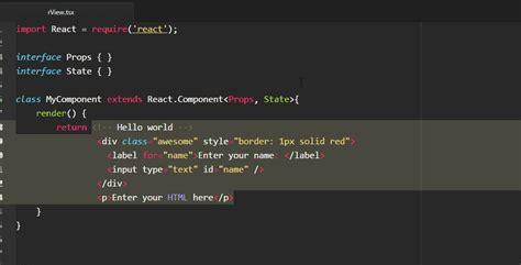 Format Html Code In Atom | ludamad atom locustypescript libraries io