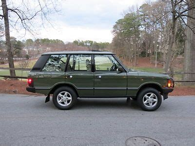 how make cars 1993 land rover range rover classic electronic valve timing buy used 1993 range rover county 56 000 miles in atlanta georgia united states for us 19 900 00
