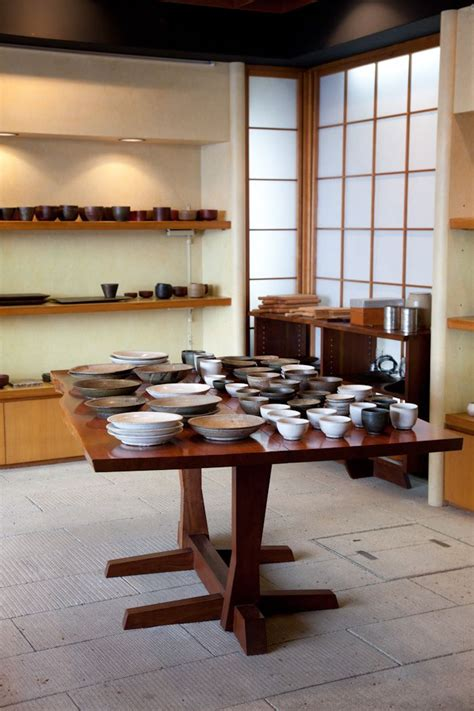 george nakashima table woodworking pinterest shelves