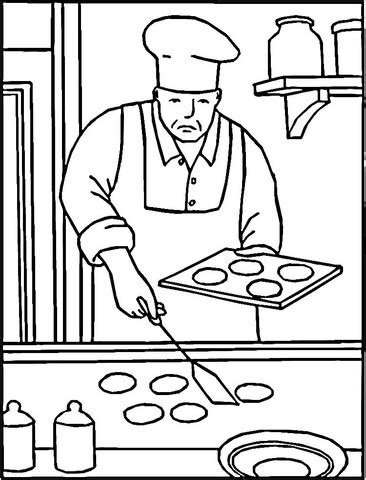 desserts bakery coloring sheet coloring pages