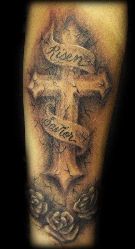 guy cross tattoos 25 amazing cross tattoos me now
