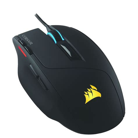 Mouse Corsair corsair sabre rgb wired gaming mouse 10000dpi optical 8 buttons ergonomic black ebay